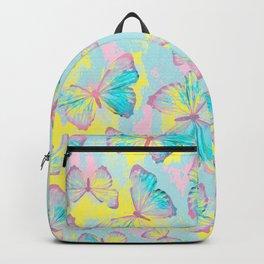 BUTTERFLIES YELLOW Backpack