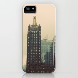 Carbide and Carbon Building Chicago iPhone Case