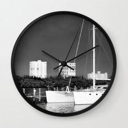 Catamaran Wall Clock