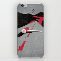 sons of anarchy iPhone & iPod Skins featuring Sons Of Anarchy Print by Take Heed