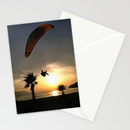 Dropzone At Dusk Stationery Cards