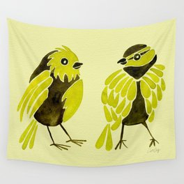 Goldfinches Wall Tapestry