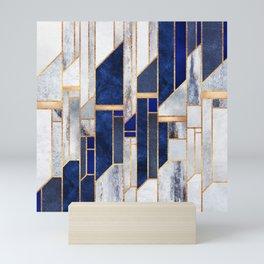 Blue Winter Sky Mini Art Print