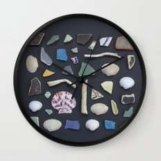 Ocean Study No. 1 Wall Clock