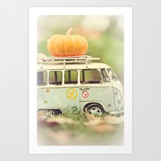 peace and pumpkins Art Print