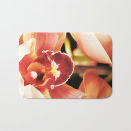 Flaming Orchid Bath Mat