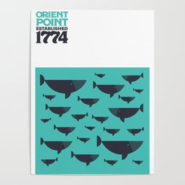 Orient Point, Long Island Limited Edition Print Poster