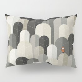 081 - Owly visits the poplar forest in autumn IV Pillow Sham