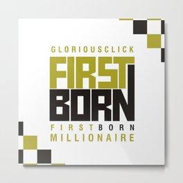 firstborn Metal Print