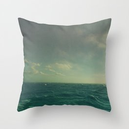Limitless Sea Throw Pillow