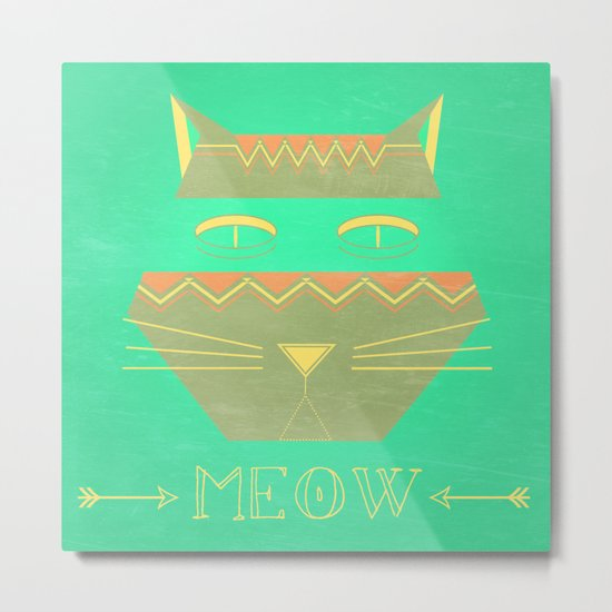 almost in cognito meow Metal Print