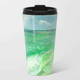 Sunny Wave Travel Mug