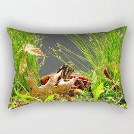 No turtles here! Rectangular Pillow