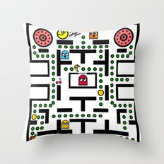 NeW PaCmAN Throw Pillow