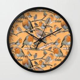 Robin | Muscicapidae Wall Clock
