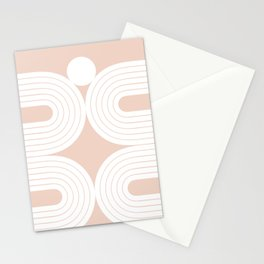Abstraction_LINES_Minimalism_001 Stationery Cards
