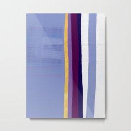 Violet purple Metal Print
