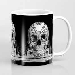 Pulled sugar, day of the dead skull Coffee Mug