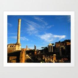 Foro Romano Art Print