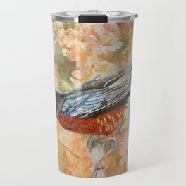 Surrounded In Bloom Travel Mug