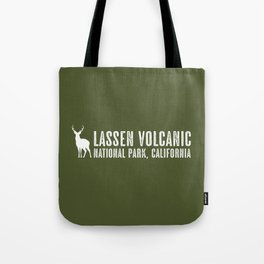 Deer: Lassen Volcanic, California Tote Bag
