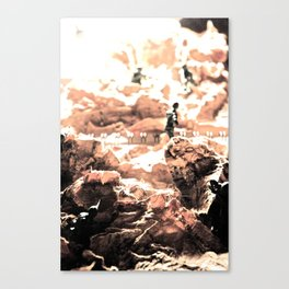 We March to Our Own Sound 2 Canvas Print