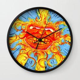 The Sun's Solar Flare Wall Clock