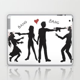 Zombie Hunting III Laptop & iPad Skin