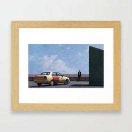 Kim Wexler Confronts Saul Goodman In Better Call Saul Framed Art Print