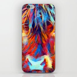 Highland Cow iPhone Skin