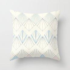 Muted Mellow Throw Pillow