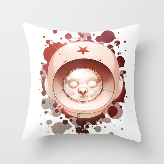 Hall, Can You Hear Me? Throw Pillow