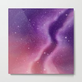 Galaxy tendril Metal Print