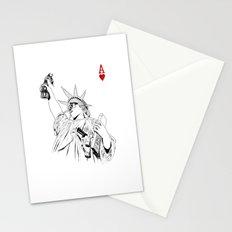 freedom...black & white Stationery Cards