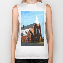 St. Paul's Church Sturgeon PEI Biker Tank