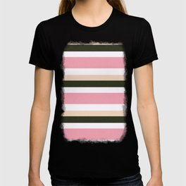 Pink Roses in Anzures 3 Stripes 4H T-shirt