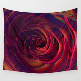 hote colors rose Wall Tapestry