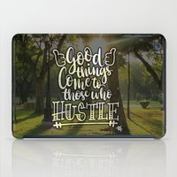 hustle iPad Cases featuring Hustle! by Art4Anj