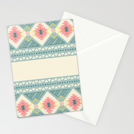 Colorful Geometric Boho Style 2 Stationery Cards