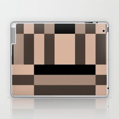 Black and Nude abstract Laptop & iPad Skin