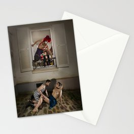 Un Chat dans la Fête Foraine (XIII) // A Cat in the Carnival (XIII) Stationery Cards
