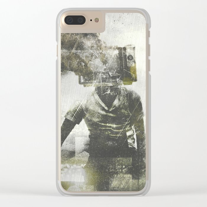 Free your mind Clear iPhone Case