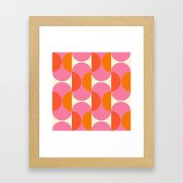 Capsule Sixties Framed Art Print