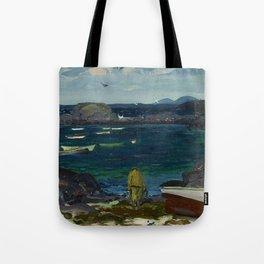 The Harbor, Monhegan Coast, Maine, 1913 Tote Bag