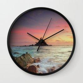 Sea Rock Wall Clock