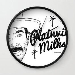 Plainview's Milkshakes Wall Clock