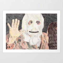 Surprise! Art Print