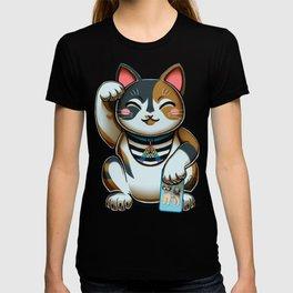 Maneki Neko Marron T-shirt
