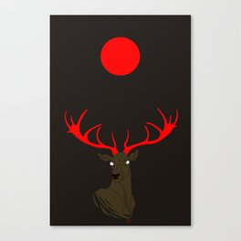 Abendrot Canvas Print