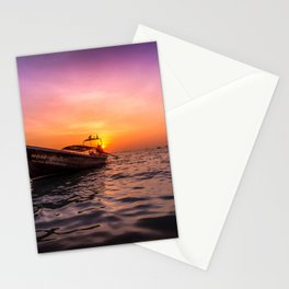 Longtail Sunset Stationery Cards